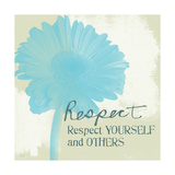 Respect Posters par Linda Woods