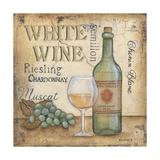 Vino blanco Póster por Kim Lewis