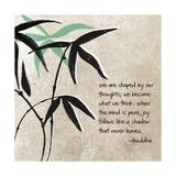 Joy Follows Kunstdruck von Linda Woods