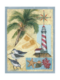 Lighthouse Letters Giclée-Premiumdruck von Anita Phillips