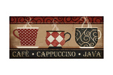 Cappuccino Café Poster tekijänä Jennifer Pugh