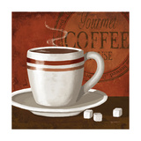 Gourmet Coffee Poster by Kathy Middlebrook
