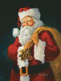 Santa Giclée-Premiumdruck von Susan Comish