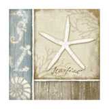 Starfish Print by Jennifer Pugh