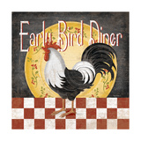 Early Bird Diner Poster by Kathy Middlebrook