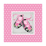 Wild Child Ballet Slipper Prints by Kathy Middlebrook