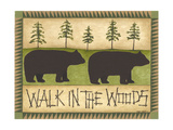 Walk in the Woods Premium Giclee Print by Cindy Shamp