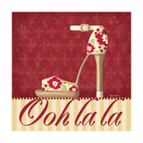 Ooh La La Shoe II Prints by Kathy Middlebrook