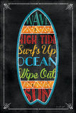 Surfboard Affiches par Jennifer Pugh