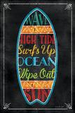 Surfboard Posters by Jennifer Pugh