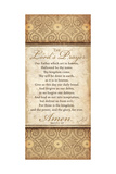 The Lord's Prayer Plakater af Jennifer Pugh