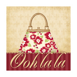 Ooh La La Purse I Poster by Kathy Middlebrook
