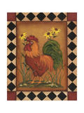 Red Rooster I Stampe di Kim Lewis
