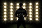 Rugby Player Fotografisk trykk av Beto Chagas
