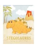 Stegosauro  Arte di Jennifer Pugh