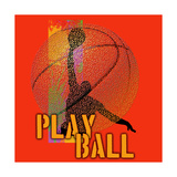Play Ball - Basketball Affiches par Jim Baldwin