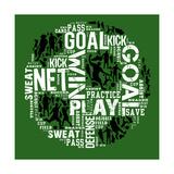 Soccer (Green) Art by Jim Baldwin