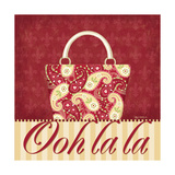 Ooh La La Purse II Prints by Kathy Middlebrook