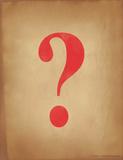 Question Mark Reproduction procédé giclée par Jeanne Stevenson
