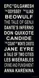 Weltliteratur Giclée-Druck von Jeanne Stevenson