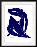 Nu azul II Poster por Henri Matisse