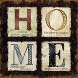 Home is Heaven Poster por Carol Robinson