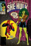 Marvel Comics Retro Style Guide: She-Hulk, Spider-Man Photo