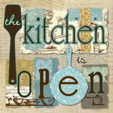 The Kitchen is Open Posters av Carol Robinson