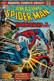 Marvel Comics Retro Style Guide: Spider-Man, Hammerhead Poster