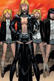Uncanny X-Men No. 12: Frost, Emma, Stepford Cuckoos Plakater