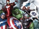 Avengers Assemble - Gallery Edition Situational Art Print