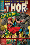 Marvel Comics Retro Style Guide: Thor, Destroyer Photographie