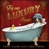 Luxury Soaps Posters by Conrad Knutsen