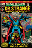 Marvel Comics Retro Style Guide: Dr. Strange Juliste