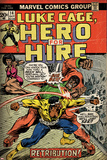 Marvel Comics Retro Style Guide: Cage, Luke Posters