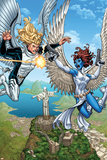Wolverine and The X-Men No. 20: Angel, Mystique Poster