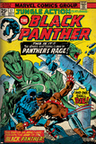 Marvel Comics Retro Style Guide: Black Panther Poster