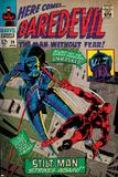Marvel Comics Retro Style Guide: Daredevil Poster