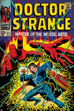 Marvel Comics Retro Style Guide: Dr. Strange Posters