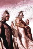 New Mutants No. 13: Cyclops, Frost, Emma, Colossus, Wolverine, Rogue Plakat