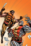 Wolverine First Class No. 21: Colossus, Wolverine Prints
