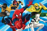 Ultimate SpiderMan - 2014 Team Heroes - Situational Art Posters