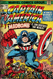 Marvel Comics Retro Style Guide: Captain America Poster