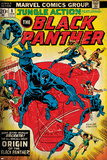 Marvel Comics Retro Style Guide: Black Panther Kunstdrucke