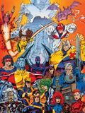 X-Men Forever Alpha No. 1: Cyclops, Storm, Grey, Jean, Summers, Rachel, Havok, Polaris, Cable Plakater