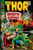 Marvel Comics Retro Style Guide: Thor, Loki Poster
