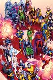 X-Men No. 41: Cyclops, Frost, Emma, Magneto, Magik, Jubilee, Wolverine, Gambit, Summers Poster