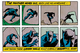 Marvel Comics Retro Style Guide: Black Panther Kunstdruck