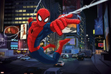 Ultimate SpiderMan - Art - Situational Art Stampe