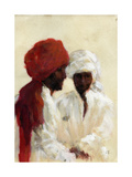 Two Imams Giclee Print by Lincoln Seligman